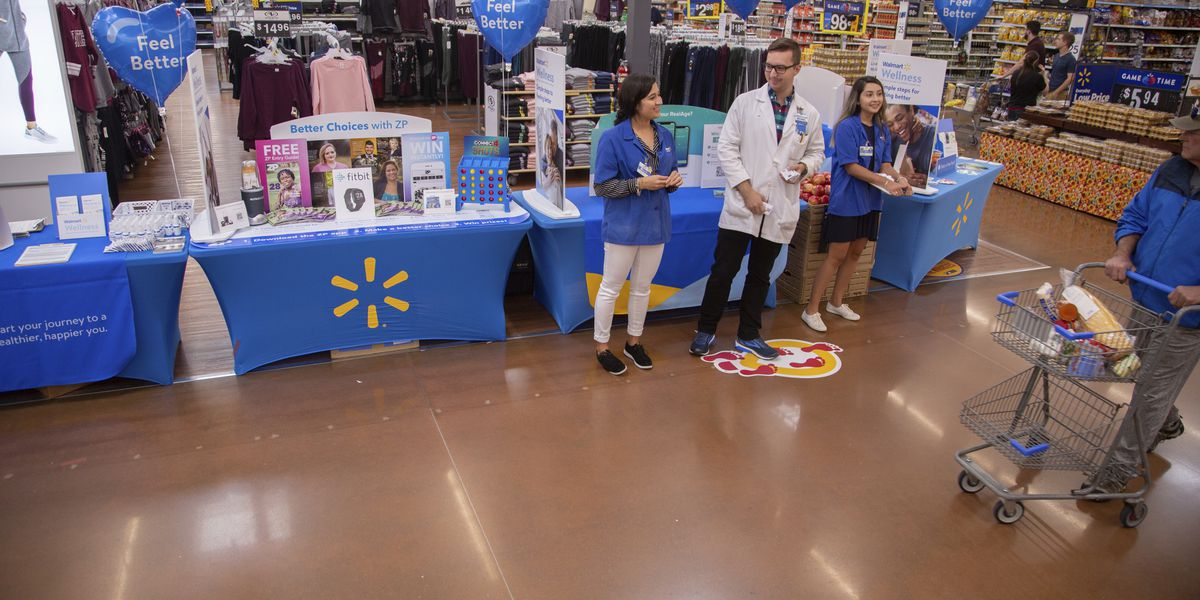 Walmart to host 'New Year - New You' wellness event