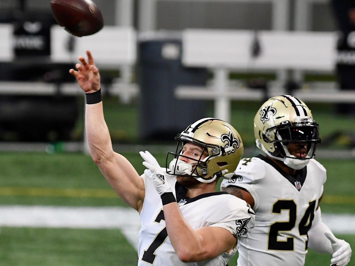 Taysom Hill and Latavius Murray miss Wednesday's workout