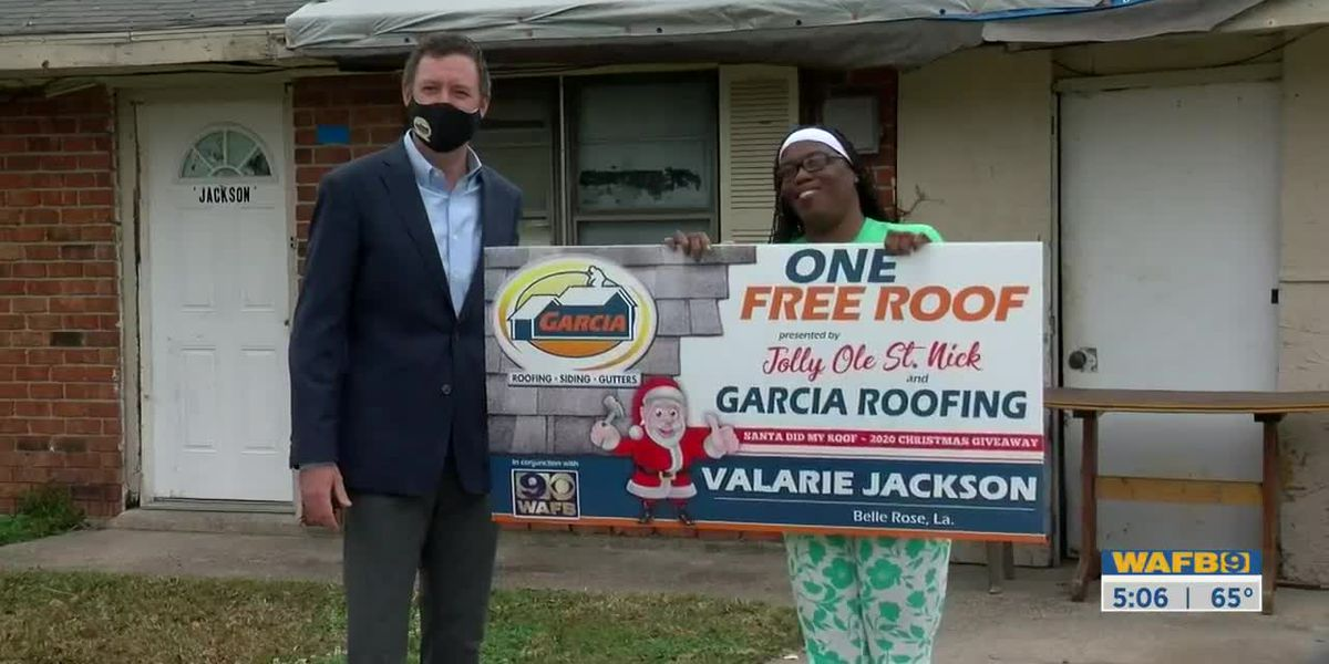 Belle Rose woman wins WAFB's 'Garcia Did My Roof' contest