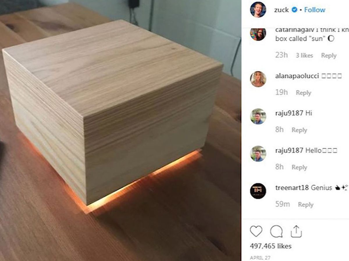 A version of Zuckerberg's 'sleep box' - coming to a store near you?