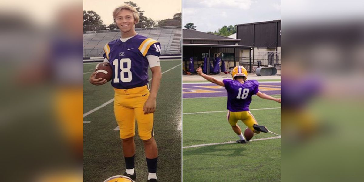 DSHS kicker Cameron Beall featured on Sunday Night Football for pediatric cancer campaign