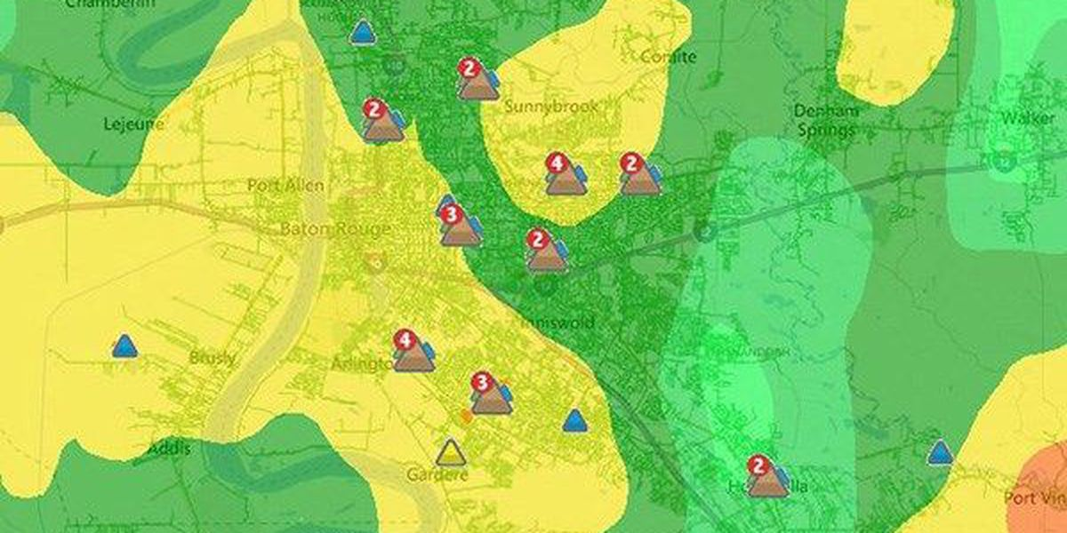 Entergy: Nearly 900 residents without power