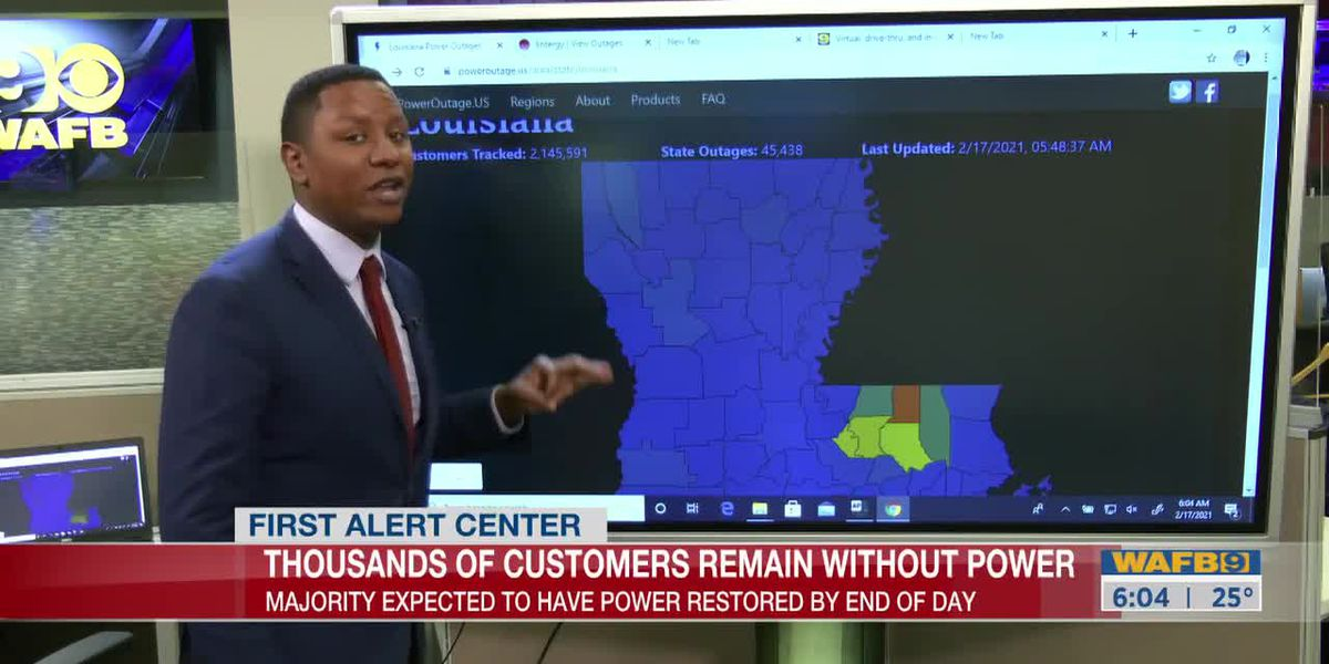 Thousands in the BR area still without power for the third day
