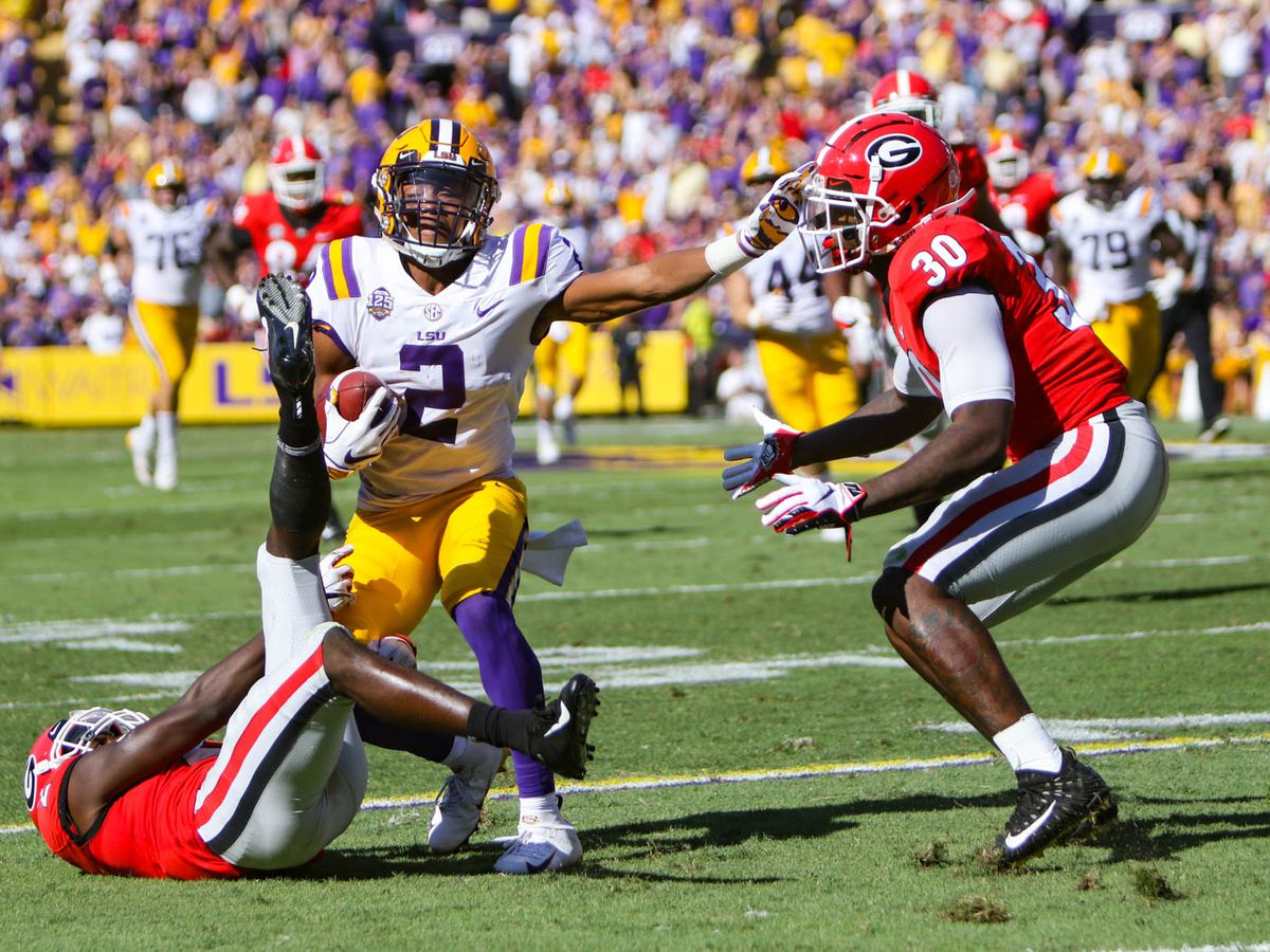 JACQUES TALK: LSU thumps UGA, returns to Top 5 in AP poll