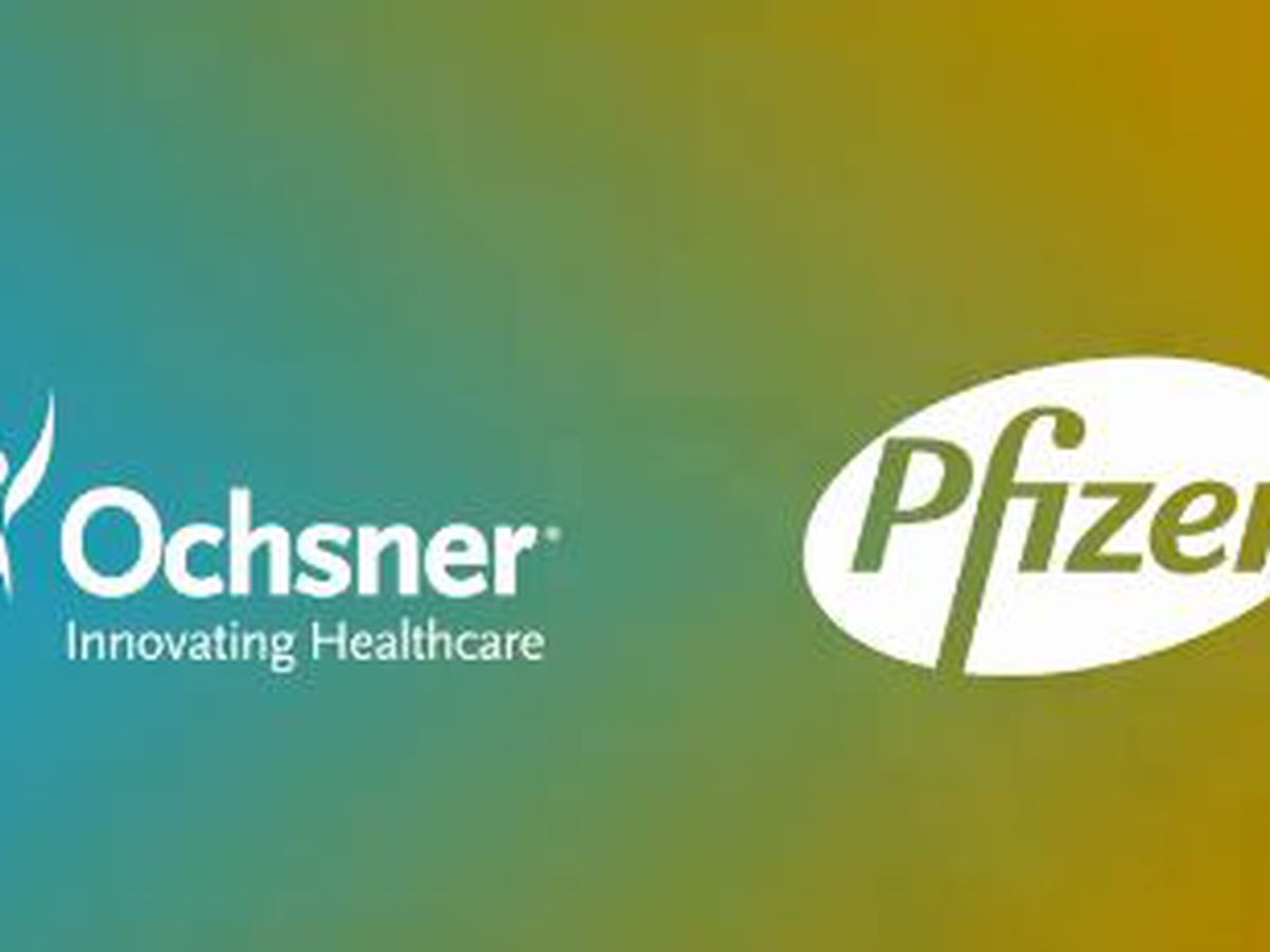 Ochsner Health System and Pfizer form multi-year alliance