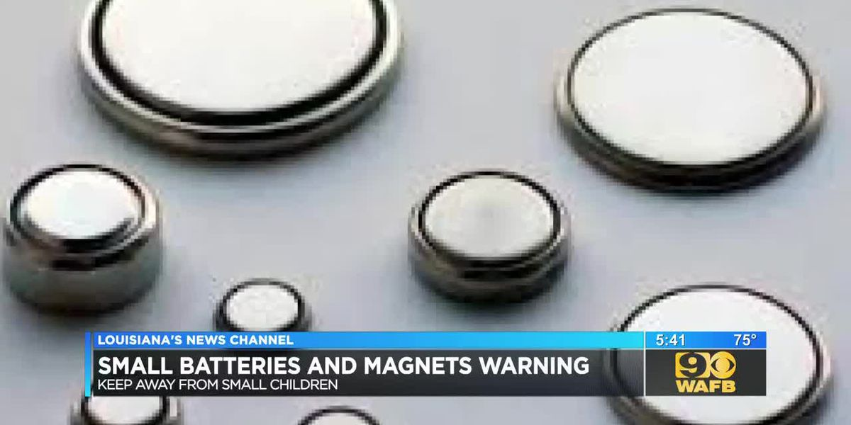 Tiny magnets and batteries are putting children at risk