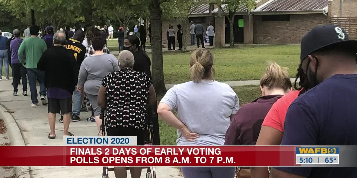 Early voting continues across the state-5am