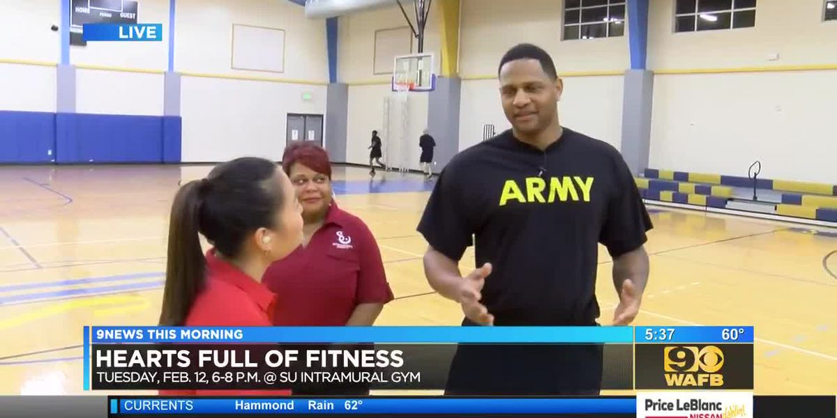 Southern University to host heart health fitness event - 5:30 a.m.