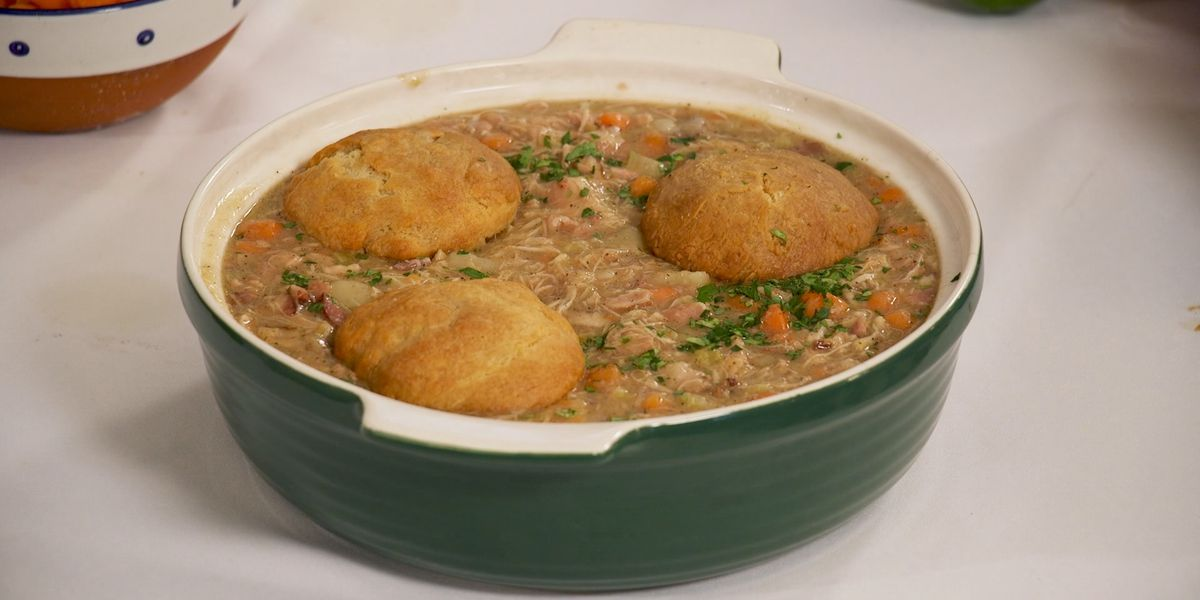 Irish Eyes Chicken Pot Pie