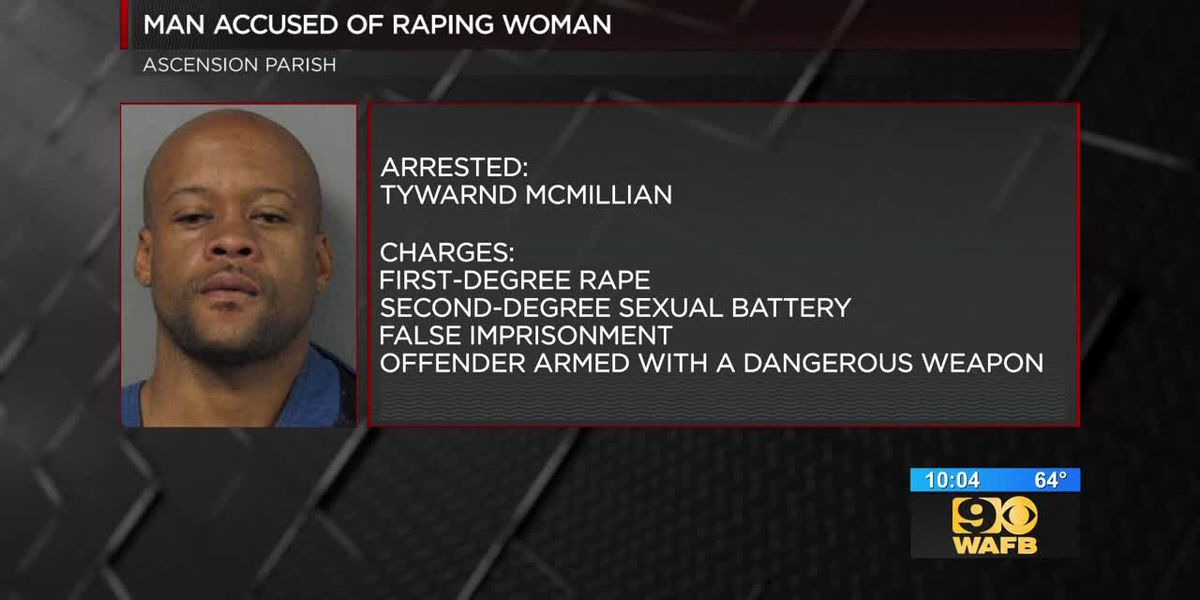Ascension Parish rape suspect arrested