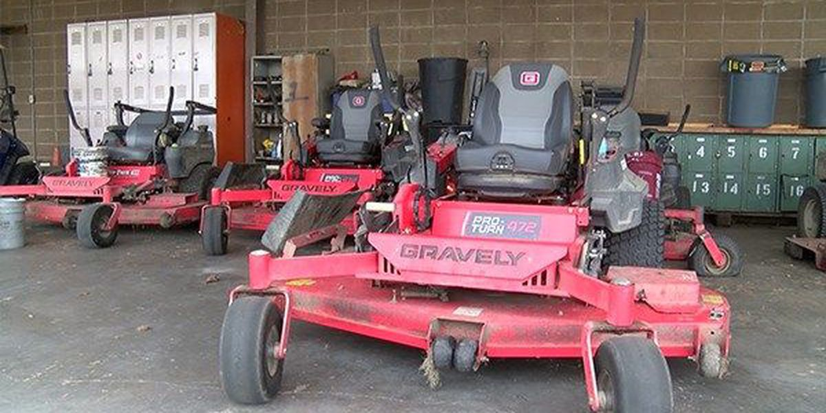 Crime Stoppers: Who stole my ride...ing lawn mower from Southern?!