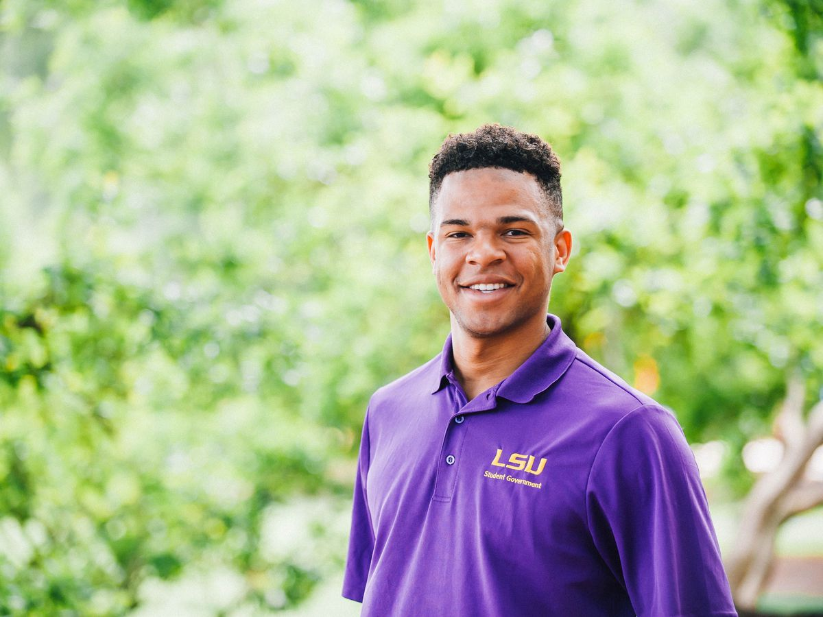 Former LSU student body president shares his story of beating coronavirus