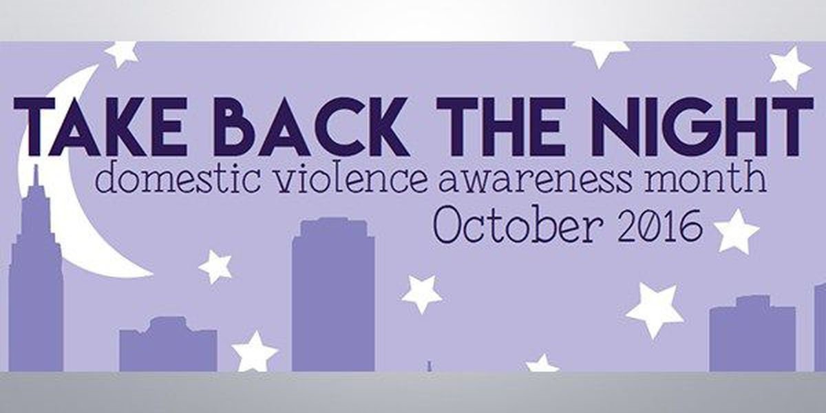 Iris Center plans 'Take Back the Night' events for Nat'l Domestic Violence Awareness Month