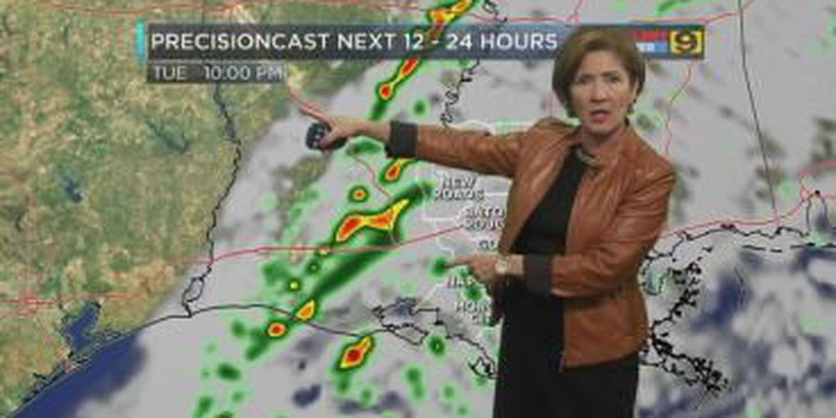 First Alert Forecast: Eye on the next 12 to 24 hours