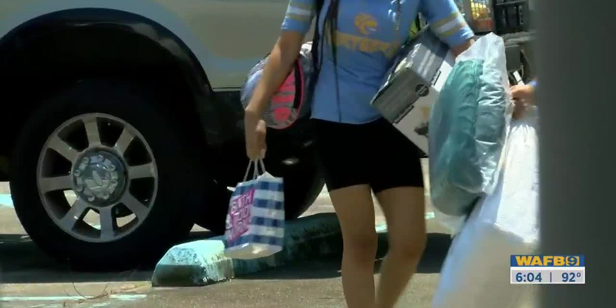 Hundreds of students moving back to Southern campus ahead of fall semester