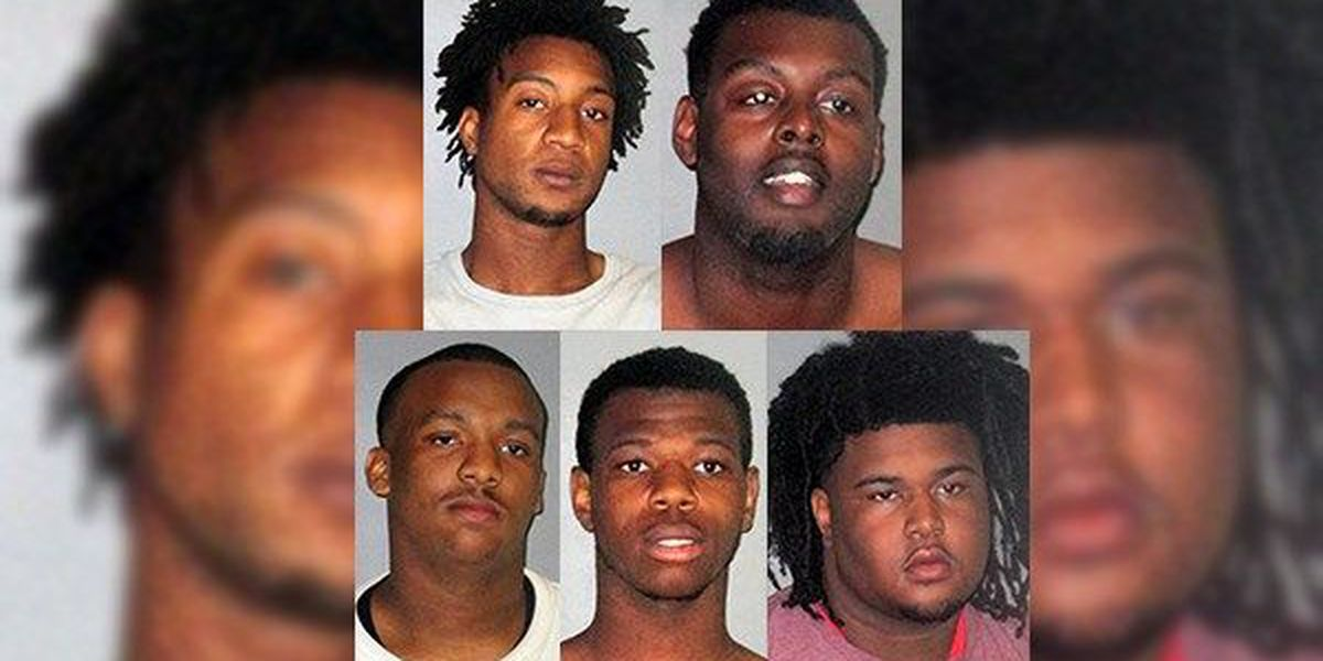 Five young men arrested for reportedly breaking into school to play basketball