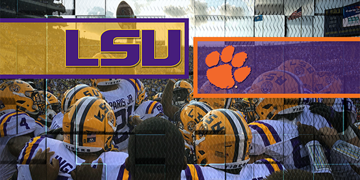 LSU, Clemson to meet in 2025 and 2026