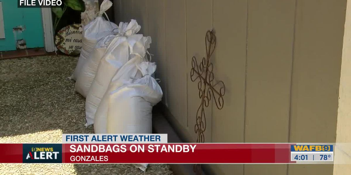 City of Gonzales on standby to hand out sandbags