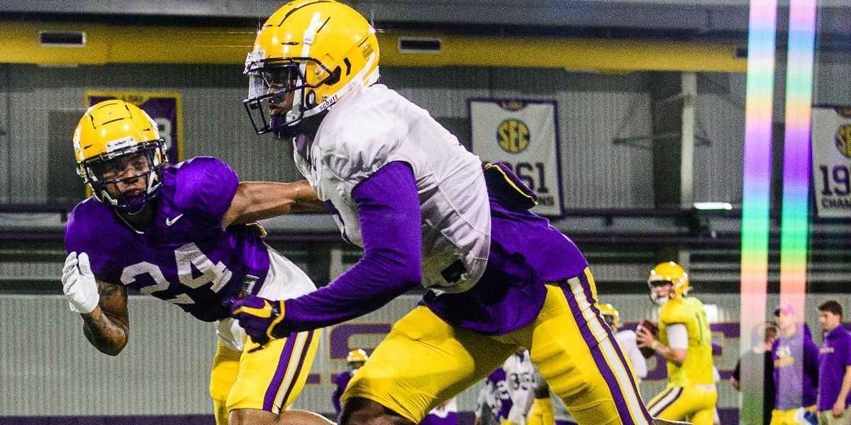 LSU heads indoors for practice, with many eyes monitoring the tropics