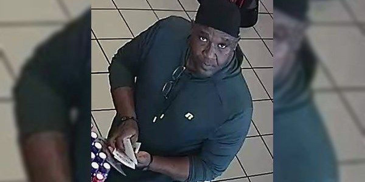 WANTED: Man accused of stealing lottery tickets from stores in Ascension Parish