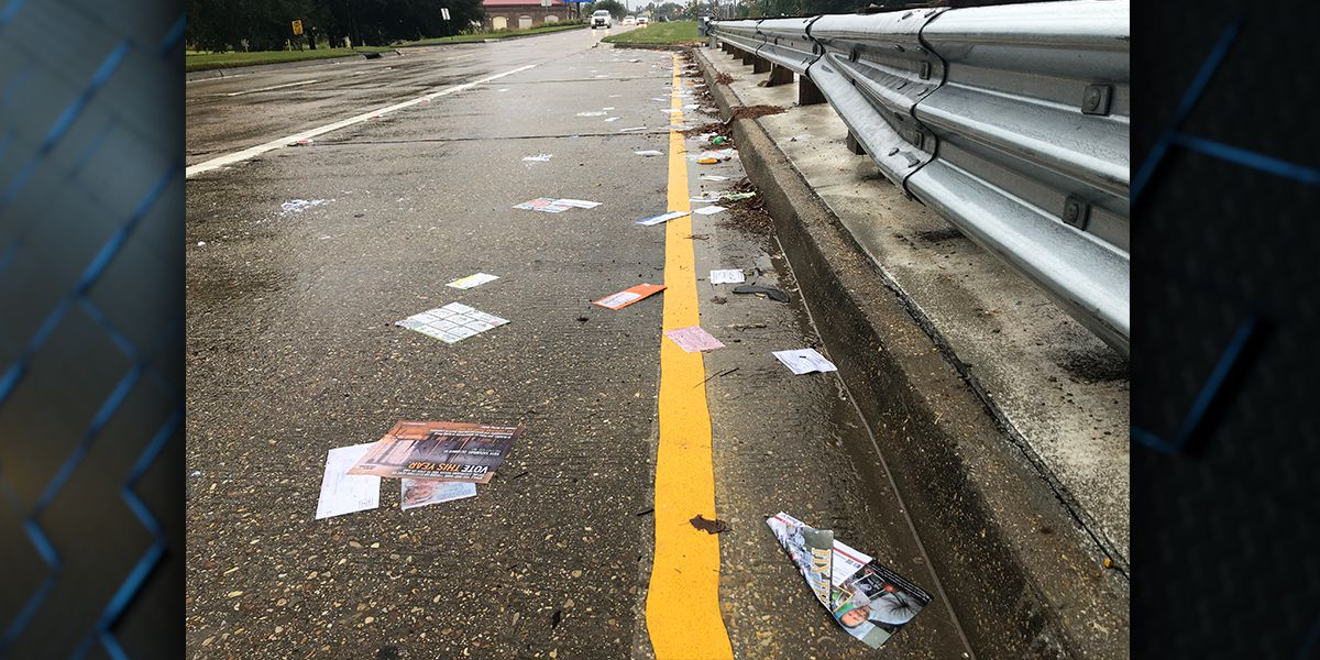 Mail scattered along Bluebonnet; investigation launched