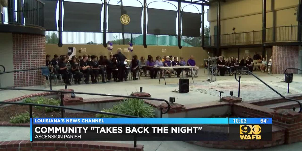Community 'Takes Back the Night'