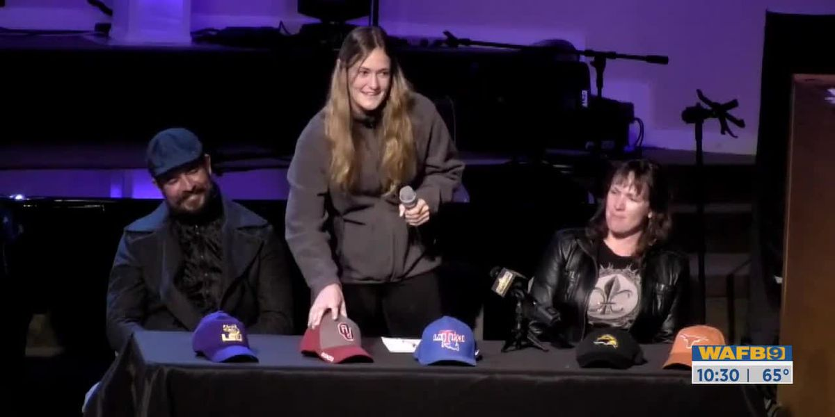 Parkview Baptist hosts signing day ceremony for several athletes