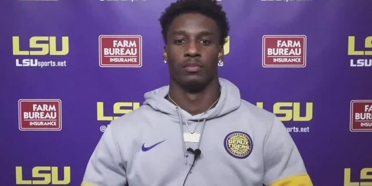 LSU Wide Receiver Terrace Marshall Jr. - 9/29/20 (Full Interview)