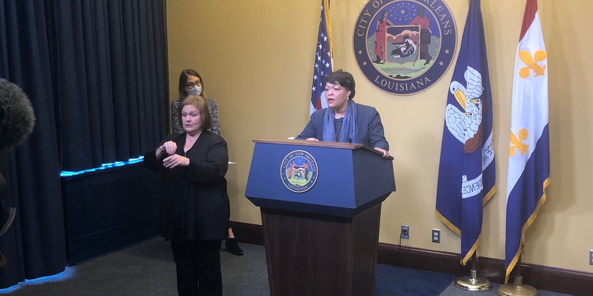 Mayor Cantrell: No new restrictions to come in Orleans Parish