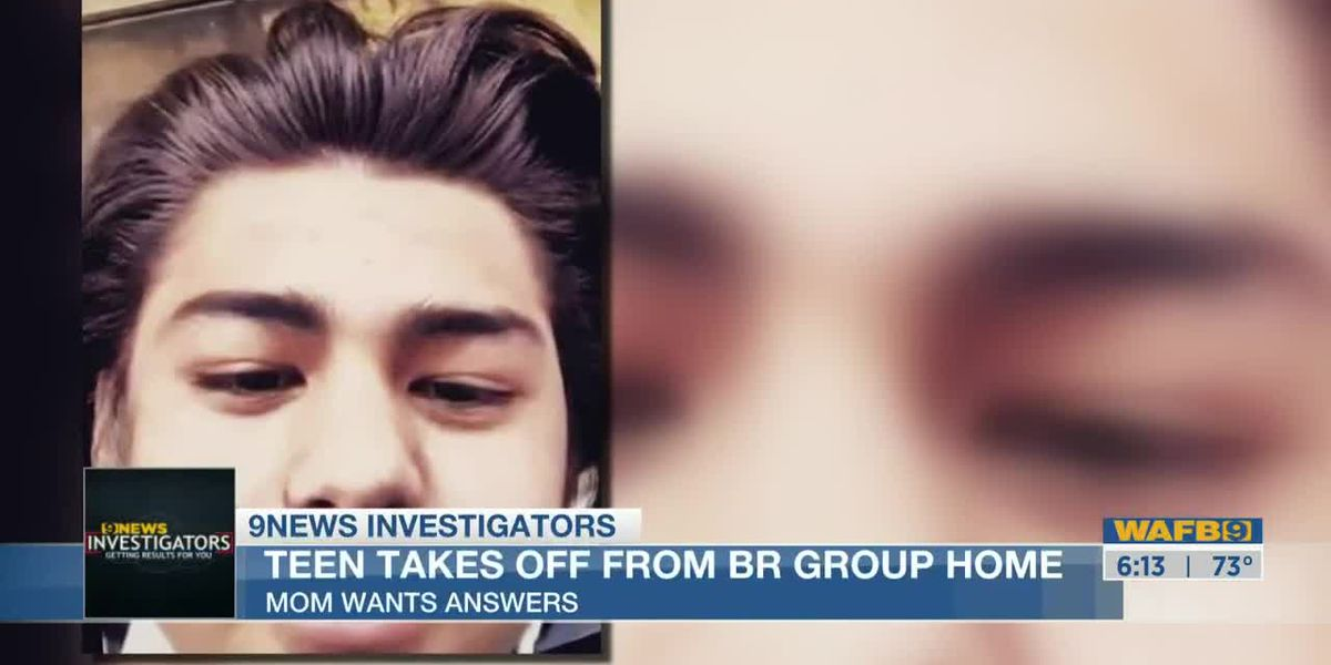 Mother wants answers after 15-year-old son runs away from Baton Rouge group home