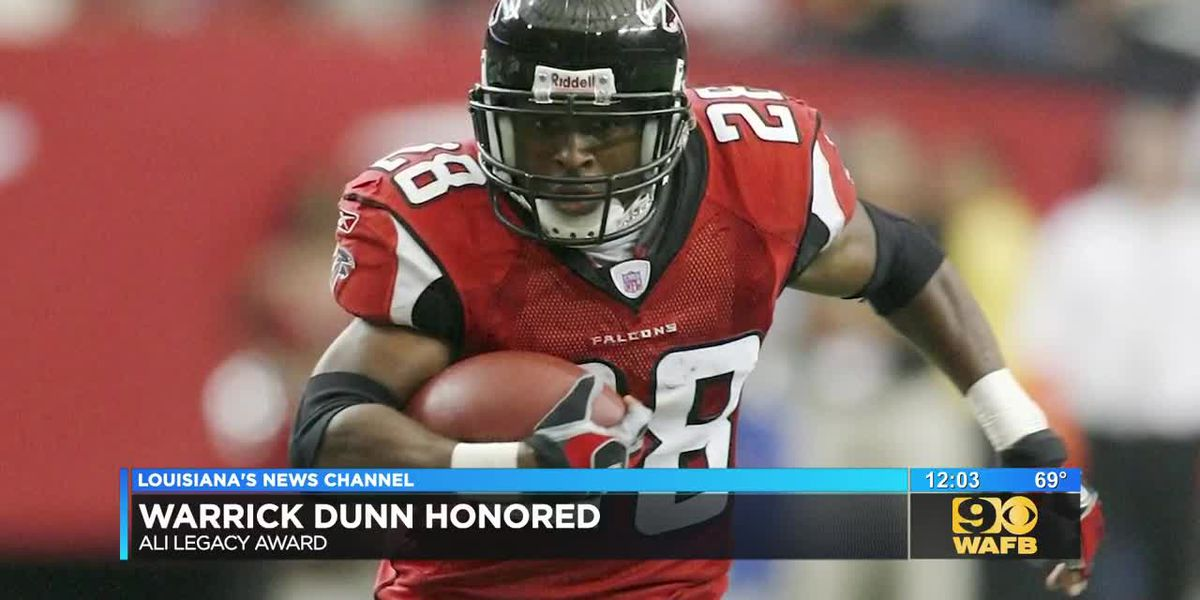 Warrick Dunn to receive Muhammad Ali award