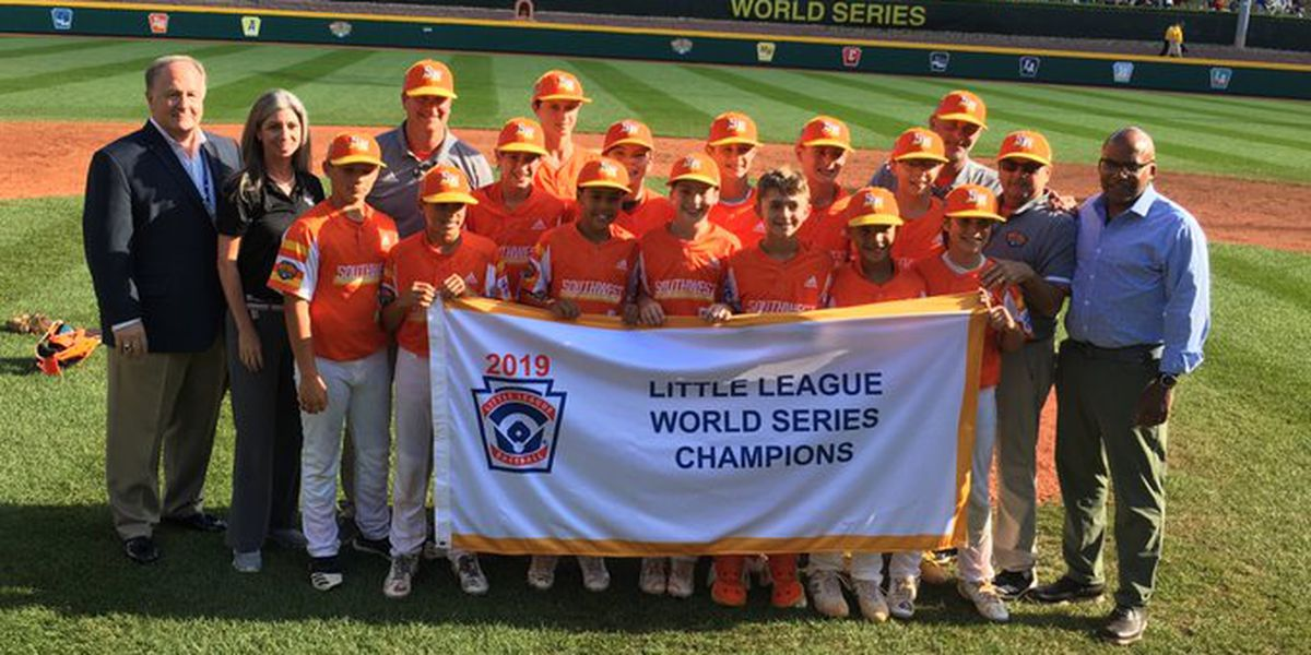Little League champions to ride in Bacchus parade