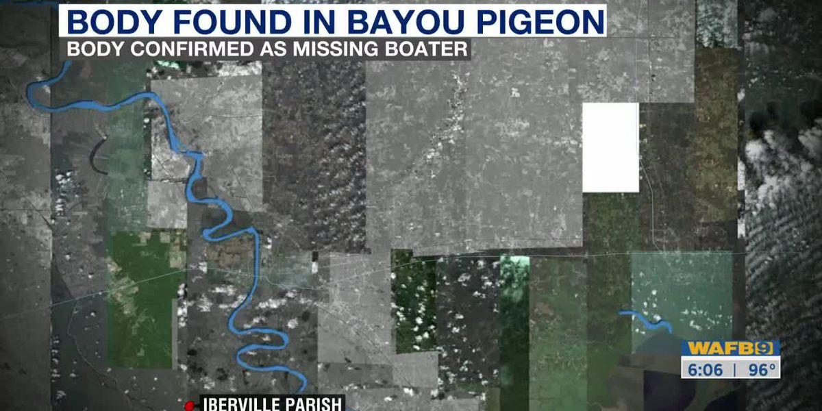 Body found in boating accident in Bayou Pigeon