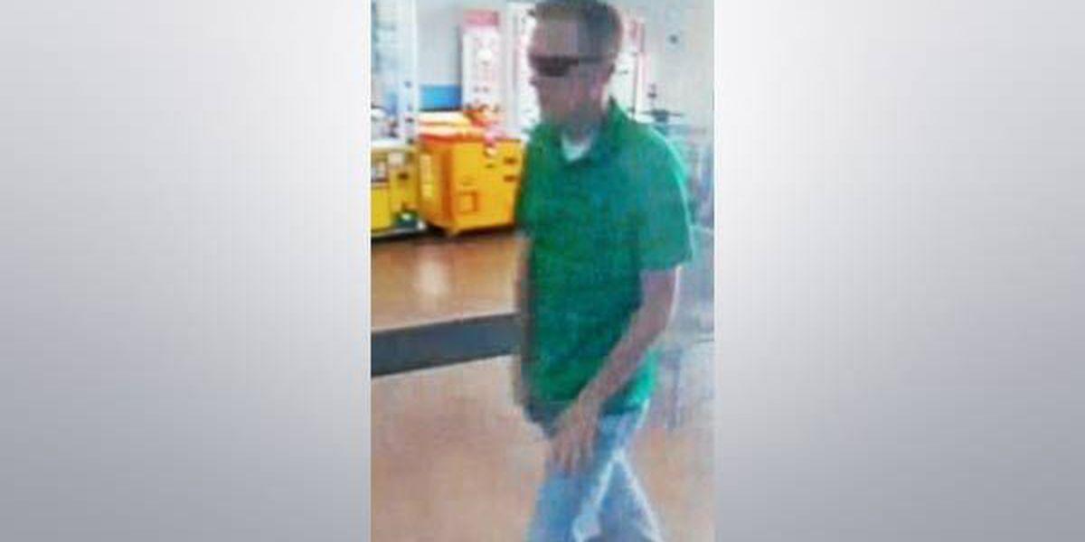 Livingston Parish Sheriff's looking for Walmart shoplifting suspect