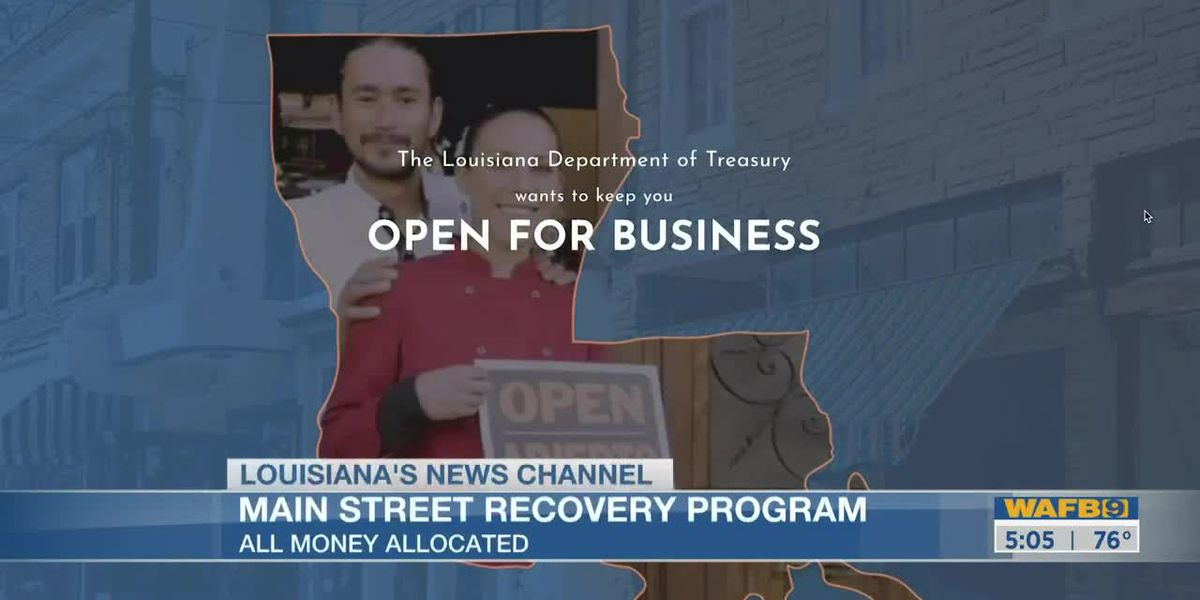 Main Street Recovery Program in La. no longer taking new applications after exhausting funding