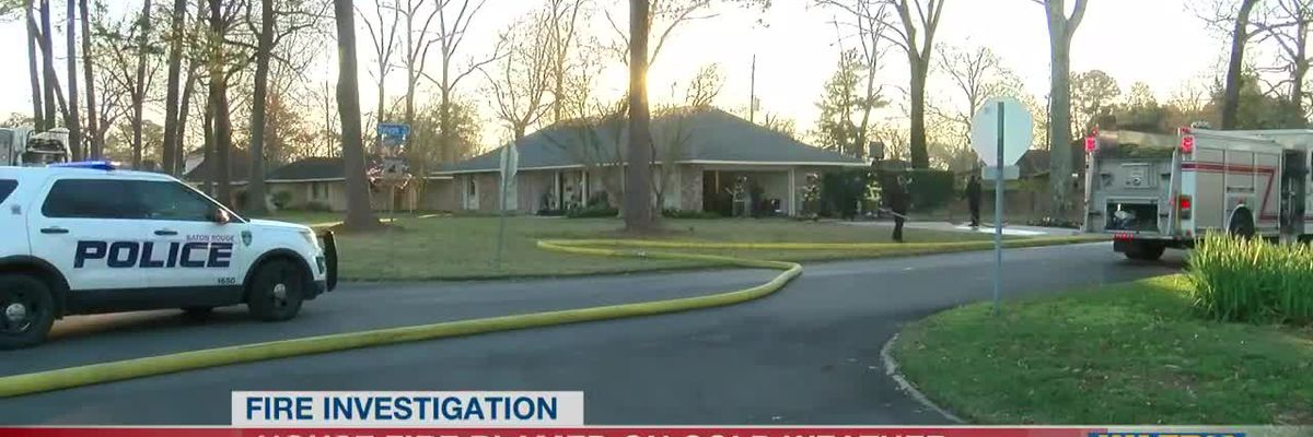 Family escapes house fire on Glenhaven Drive