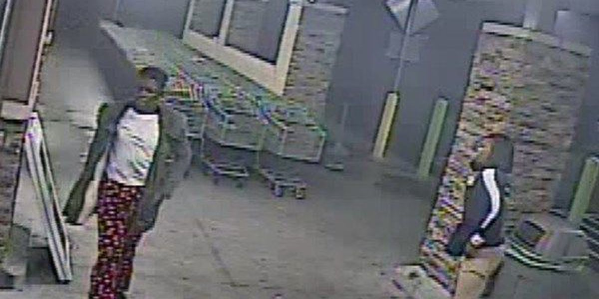 Suspects sought for allegedly stealing alcohol from Walmart while wearing employee vest