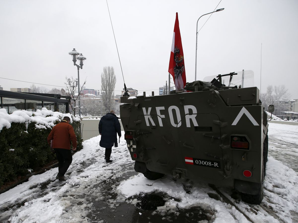 The Latest: Serbia mulls reactions to Kosovo army formation