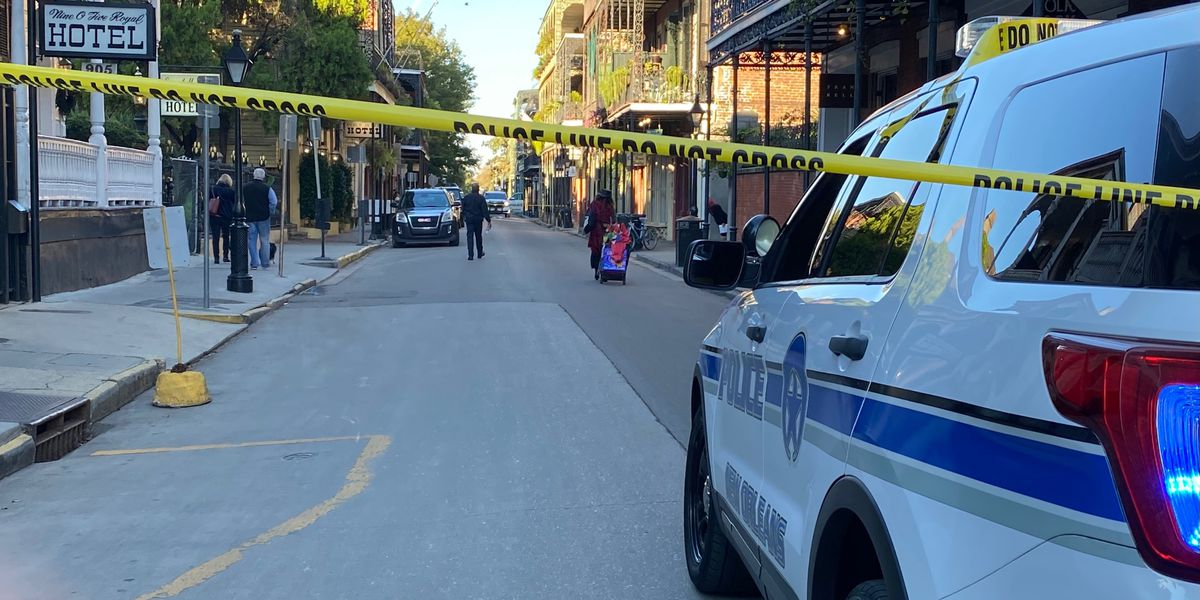 NOPD identifies officer 'ambushed' in French Quarter shooting; suspect apprehended