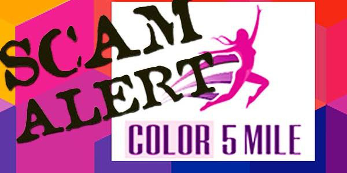 Police: Color 5 Mile run scheduled for this weekend is a scam