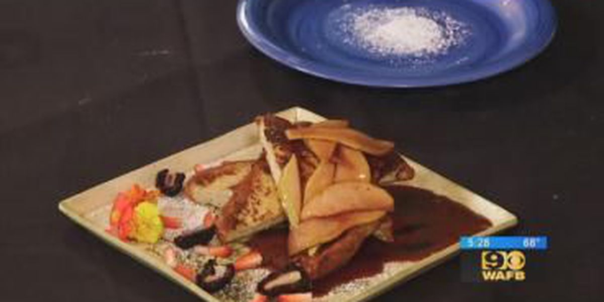 Stirrin' It Up: French Toast with Pears and Pomegranate Sauce (Nov. 28, 2017)