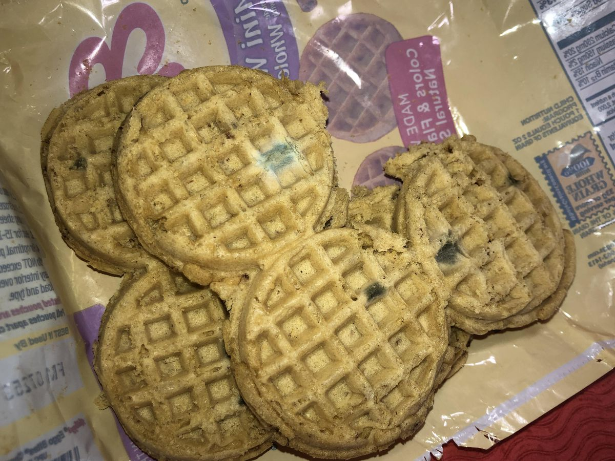Parents, students complain about mold on frozen waffles served at school