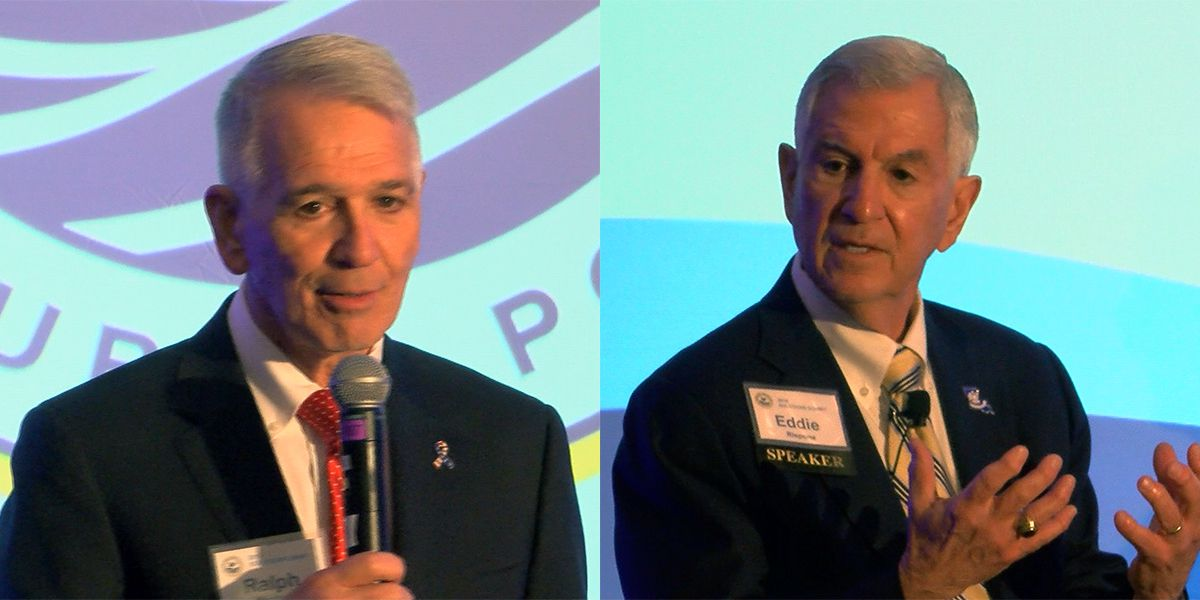 Republican gubernatorial candidates speak at Pelican Institute forum