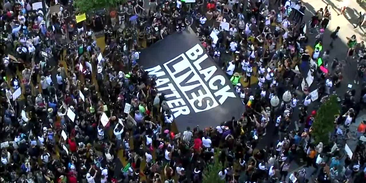 Protesters worldwide call for equality and justice as family remembers Floyd