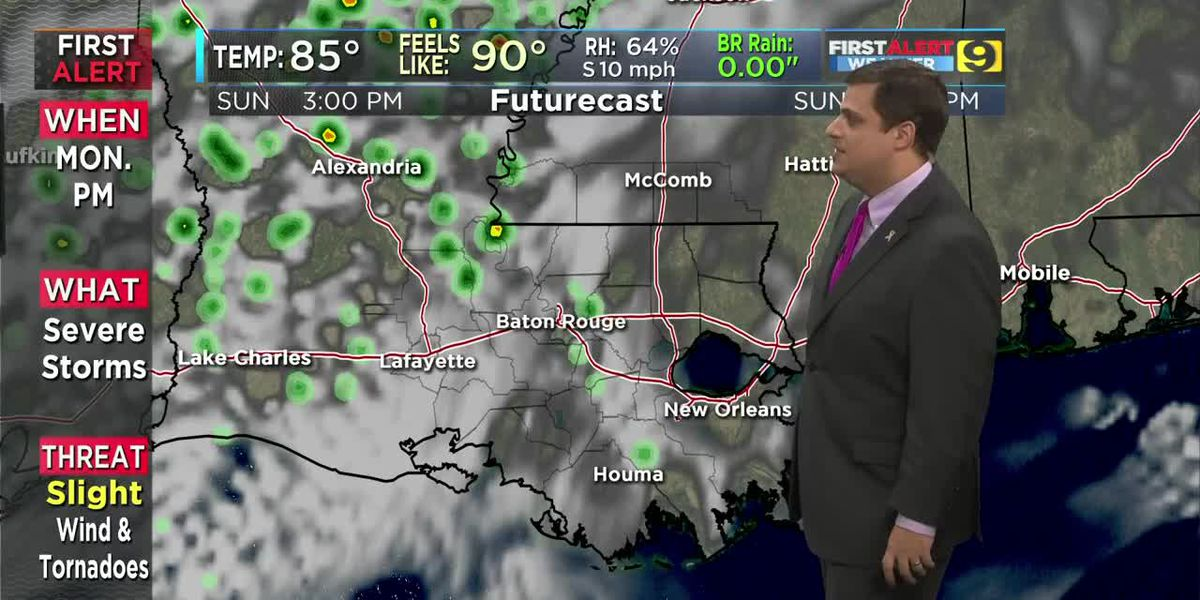 FIRST ALERT 7 A.M. FORECAST: Sunday, Oct. 20