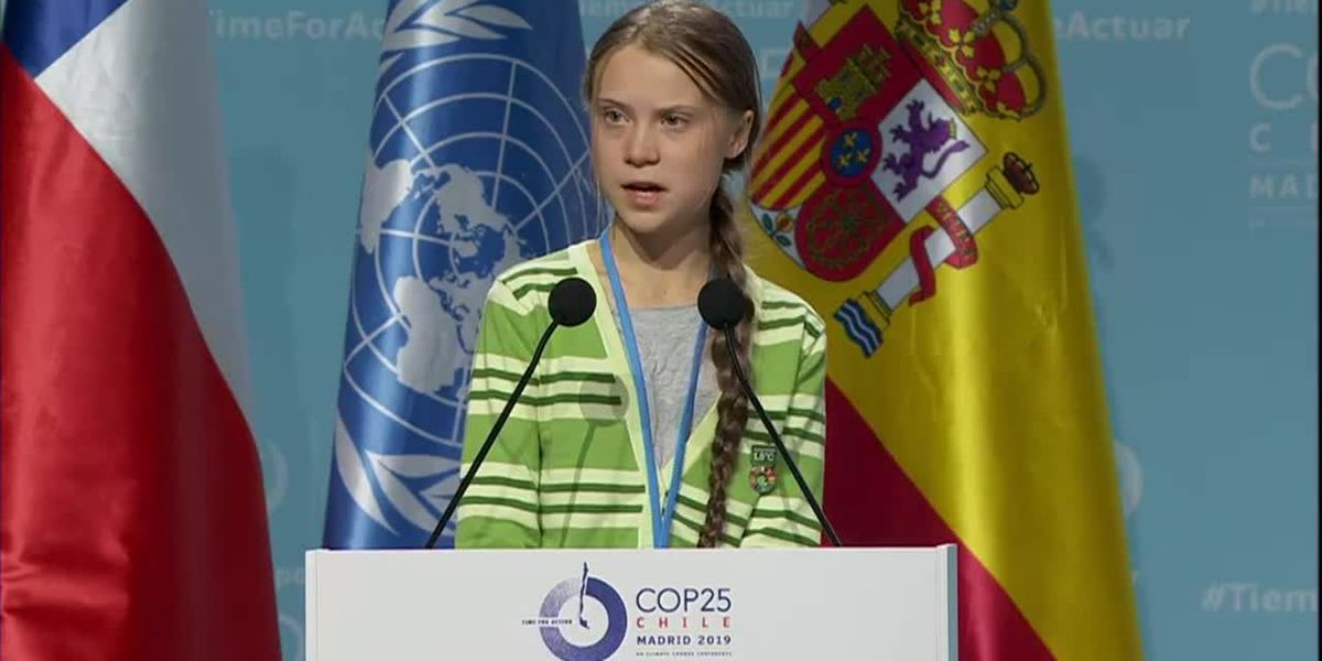 Thunberg on climate change: 'Every fraction of a degree matters'