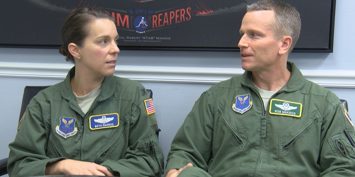 Two Air Force colonels prove love conquers all