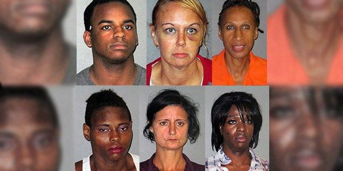 Six arrested in Baton Rouge prostitution sting