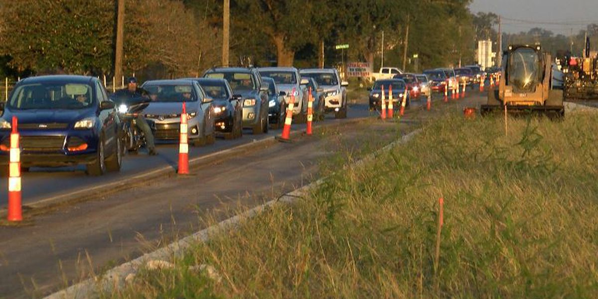 Rain, coronavirus cause delays in LA 42 widening project in Ascension Parish