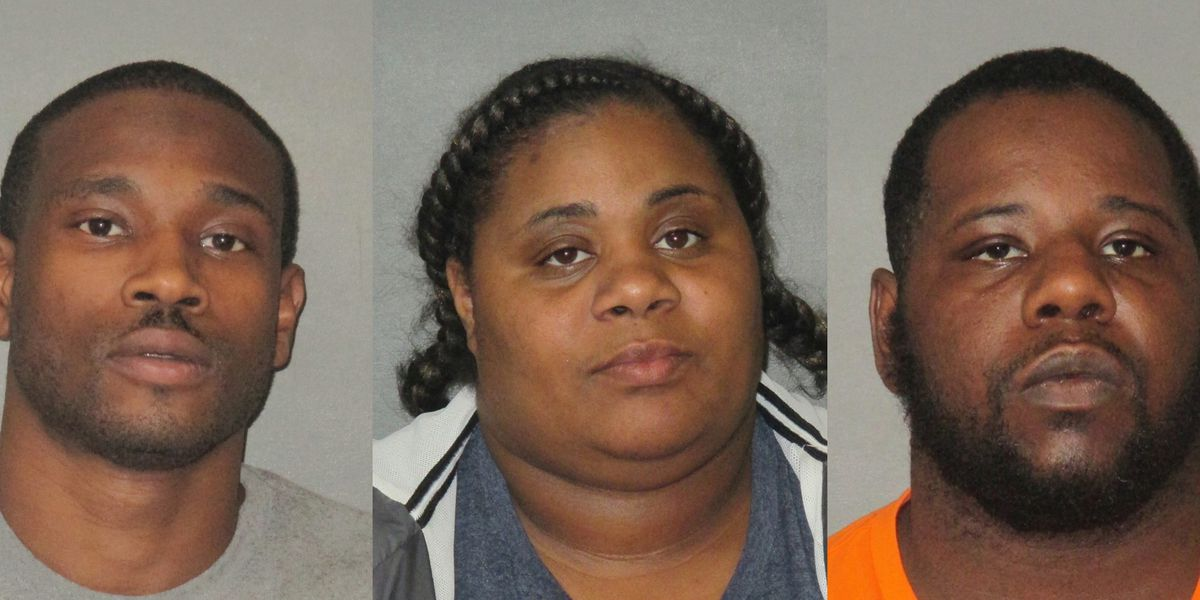 Deputies arrest trio accused of more than $80K in fraudulent credit card purchases